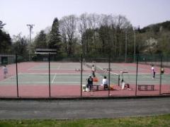 胎内テニスコート